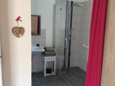 salle eau douche à l'italienne Libellule