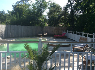 piscine chambre d'hotes