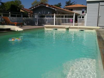 piscine chauffee soulac